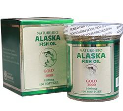 Alaska Fish Oil (100 Capsules)